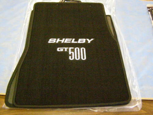New Shelby GT 500 Mustang Floor Mats OEM 2005 2006 2007 2008 2009