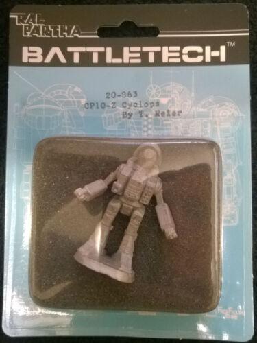 Ral Partha Battletech 20-863 CP10-Z Cyclops Mint, Sealed