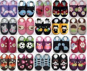 549dee3d42563 25 26 EU Chausson bébé chaussons bébé enfant chaussures cuir semelle ...