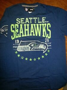 Image is loading SEATTLE-SEAHAWKS-VINTAGE-T-SHIRT-NFL-TEAM-APPAREL 4a21cc866