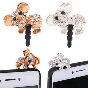 Cute-Koala-Design-Earphone-Dust-Plug-Phone-Accessories-For-3-5mm-Earphone-EP
