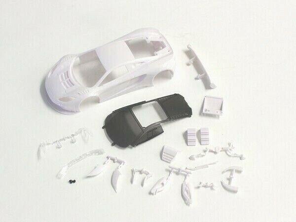 Z Kyosho K Mzn163 Body Shell Mclaren 12c Gt3 2013 Mini Z White Body