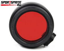 Hohe Durchlässigkeit Rote Filterabdeckung für Surefire 6P 9P G2 G2 G2X G2ZX 6PX