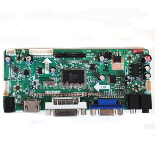 HDMI+DVI+VGA LCD Controller Board for LG LP173WF1-TLA1 LP173WF1 TL A1 @USA