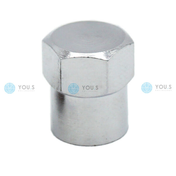 1 Pezzi You. S In Alluminio Valvola Cappuccio Argento Con Guarnizione Tappo Valvola Per Auto Pkw Lkw I Consumatori Prima