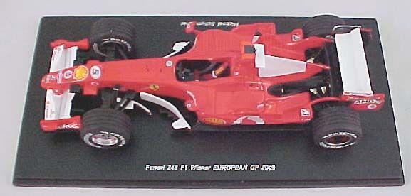 Ferrari  248 F1 Winner European GP 2006 scale 1 24 rougeline Limited Edition nouveau  bien vendre partout dans le monde
