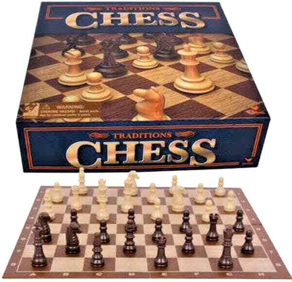 Classic CHESS Board Game Set Family Educational Fun Gift Traditional New 6