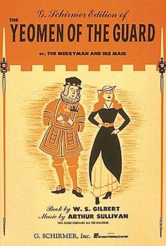 Yeoman of the Guard Vocal Score NEW 050337860