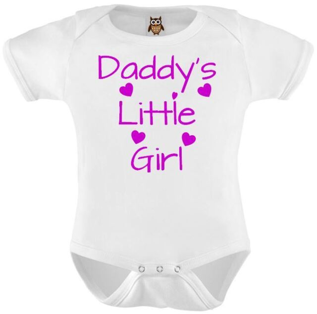 Cute Baby Vest Bodysuit Adorable Daddys Little Girl Cute Baby Gift, Present