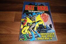 BATMAN Superband  # 15 -- mit Poster u. Sammelecke // 1. Auflage 1982