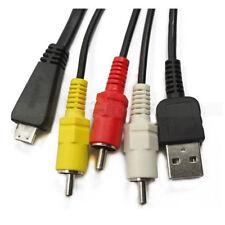 VMC-MD3 USB Data Cable with A/V For sony W350 W360 W380 TX5 W390 DSC-W390 VMCMD3