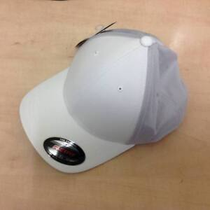 999aaee19847d Image is loading NEW-Adidas-Climacool-Tour-Flexfit-Golf-Cap-White