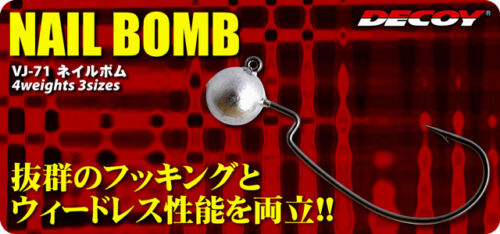Hook /& Weight size variation 6090 DECOY VJ-71 NAIL BOMB