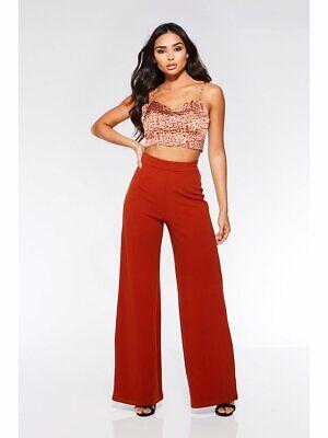 New Coast Hattie High Waisted Wide leg trousers Uk Size 6-18
