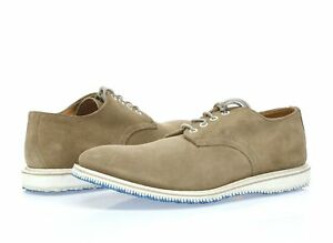 Mens WALK-OVER taupe suede oxfords sz. 9.5 NEW! $250