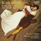 Schumann: Works for Piano and Orchestra Super Audio Hybrid CD (CD, Mar-2012, Tudor Records)