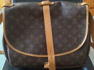 Louis-Vuitton-originale-autentica-grande-saumur-monogram-perfetta