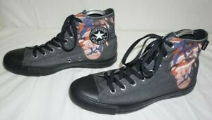 Converse-Andy-Warhol-Chuck-Taylor-Hi-Top-Self-Portrait-Shoes-Black-Red-Size-8-5