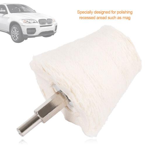 4X Polishing Buffing Pads Mop Wheel Drill Kit for Car Polisher Aluminum WILLKEY