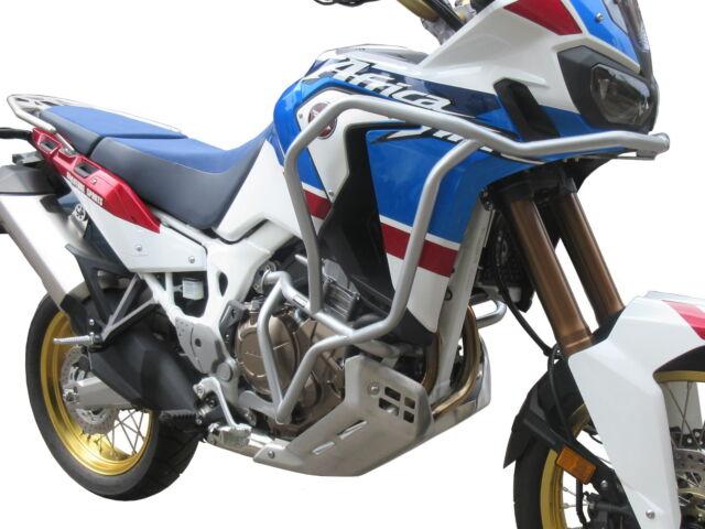 Defensa de motor Heed Honda CRF 1000 Africa Twin Adventure Sports Bunker plata