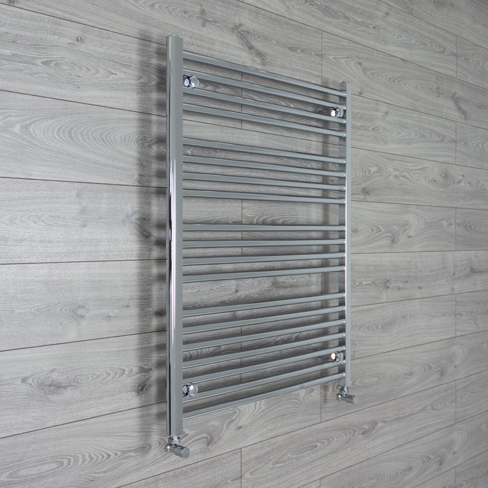 Chrome Porte-serviettes Rad chauffage central salle de bains radiateur Largeur 750 mm Hauteur 1000 mm