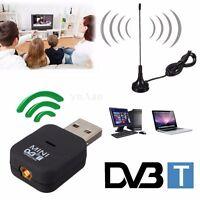 USB DVB-T Digital TV Receiver Tuner Stick Dongle Audio MPEG-2/4 Video Decorder