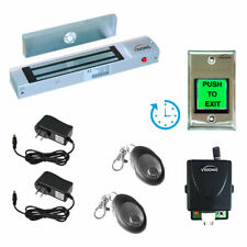 Visionis One Door Access Control Kit With Maglock Time Delay Exit Button