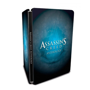 STEELBOOK-Assassin-039-s-Creed-Anthology-NO-GAME-DVD-Size-G1-Case-Box-New