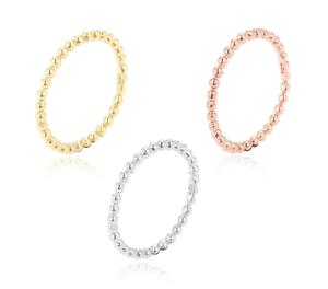 Silvery-Dotsring-Dots-Ring-Kugeln-Kugelring-Silber-925-Gold-Rose-schmuckrausch