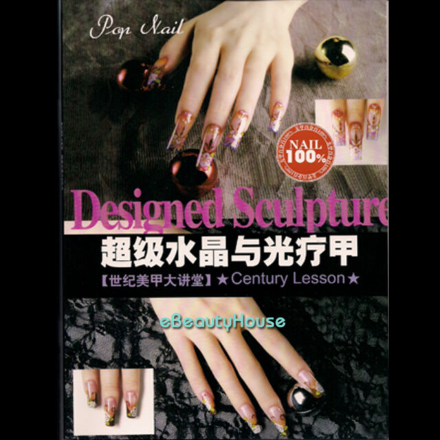 New Nail Art Design Book of Acrylic & Clear Pop Nail #011