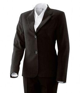 donna Exner donna New 32 Giacca Wool Suit con Blazer 52 Giacca Blazer Black da da Gr wwTrtqY