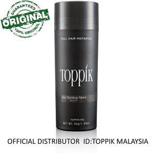 Toppik-Hair-Building-Fiber-55G-BLACK-OFFICIAL-DISTRIBUTOR-MALAYSIA