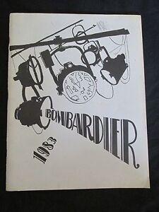 "1983 Meyer Levin Junior Lycée Annuaire Brooklyn New York "" Bombardier "" Livre Sj5micfl-08003200-445070909"