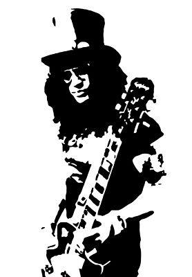 Slash Vinyl Decal Sticker Guns N Roses Record Appetite For