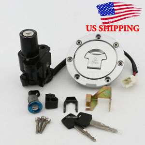 Details About Ignition Switch Fuel Gas Cap Seat Key Lock Set For Honda Cbr600rr 2005 2006