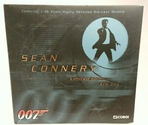 RARE-CORGI-CC93984-James-Bond-007-Sean-Connery-Era-Set-Factory-Sample-of-2500