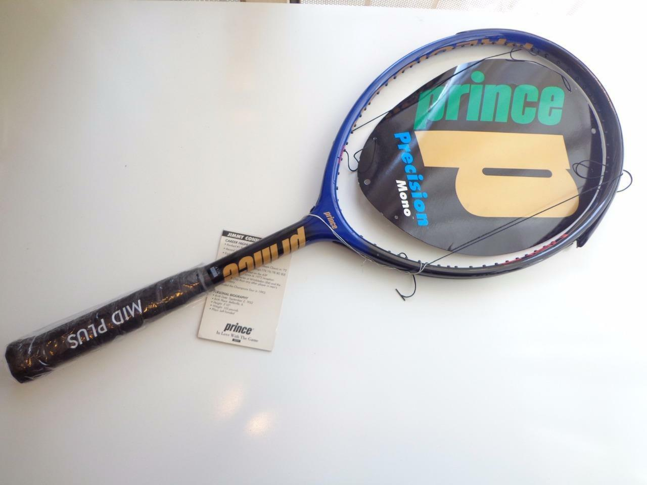 NEW Rare Prince Precision MONO Jimmy Connors 96 head 4 1/2 grip Tennis Racquet