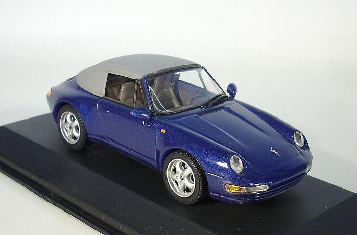 ventas al por mayor Minichamps 1 43 Porsche 911 cabriolet Soft Top (1994) (1994) (1994) metalizado azul OVP  5063  tiendas minoristas