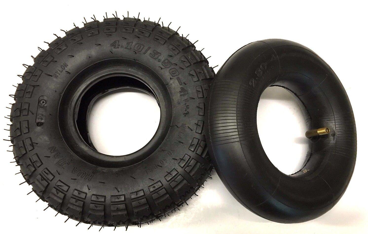 Tubo interno del neumático y Set 4.10 3.5-4 curva válvula vástago silla de movilidad