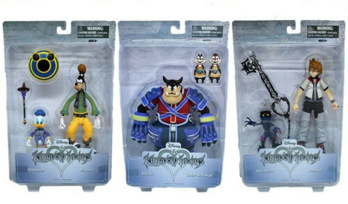 Disney Kingdom Hearts Serie 2 Actionfiguren 15 cm Neu OVP Set 2 Figuren