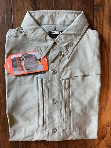 Habit Homme Kestrel Creek Ventilé Pêche Sport Chemise TS1283 Ultraviolet facteur de protection moyenne 30 Neuf avec étiquettes