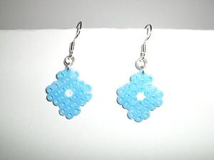 LOVELY-HANDMADE-MINI-HAMA-BEADS-DROP-DANGLE-EARRINGS-A4