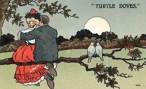 Postcard-Entitled-Turtle-Doves-Ref-C9