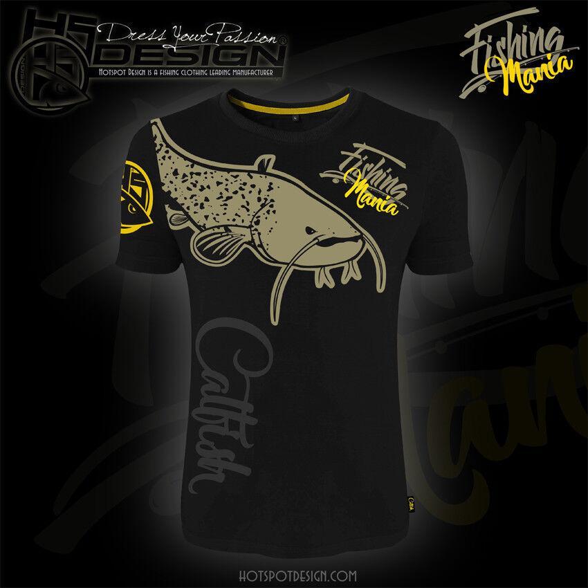 Hotspot Hotspot Hotspot Design T-shirt CatFishing Mania, Angel-T-Shirt, Angler-T-Shirt e9c86b