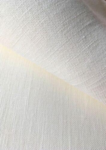 Antique White 40 count Zweigart Newcastle Linen evenweave fabric 50 x 140 cm