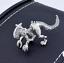 Alien vs Predator Xenomorph Xeno Earring Single or Pair Silver or Black