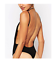 MISSGUIDED purdy backless crepe bodysuit black M50//5