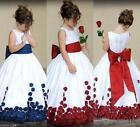 NEW COMMUNION BRIDESMAID PAGEANT BIRTHDAY WEDDING PARTY FLOWER GIRL DRESS
