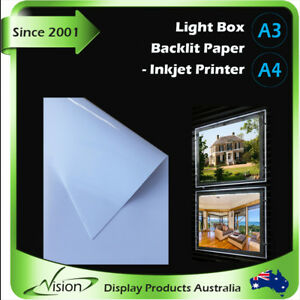 A3 A4 LED Panel Backlit Paper Backlight Sheet for Light Box Real