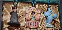 Disney Aladdin Art Of Jasmine Limited Edition Ornament Set Christmas Tree Decor